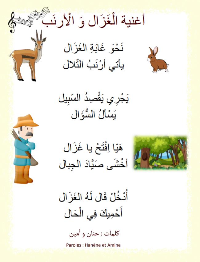 Chanson Pour Les Petits Enfants En Arabe